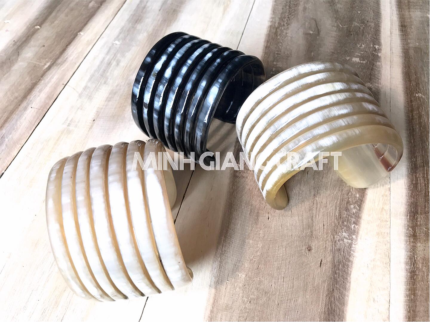 Natural Buffalo Horn Bangle  Jewelry