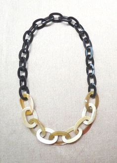 Buffalo Horn Necklace Jewelry