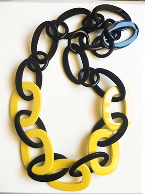 Buffalo Horn Lacquer Necklace Jewelry